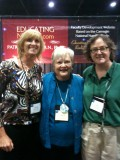 Diane Pestolesi, Patricia Benner, and Lisa Day