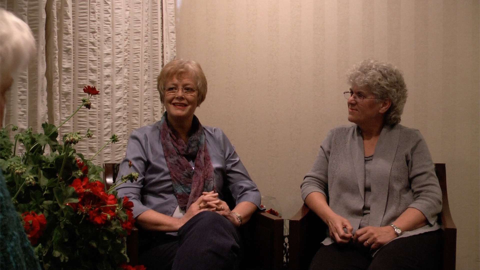 Linda Wagner and Paula Gubrud -Howe sit down with Dr. Benner