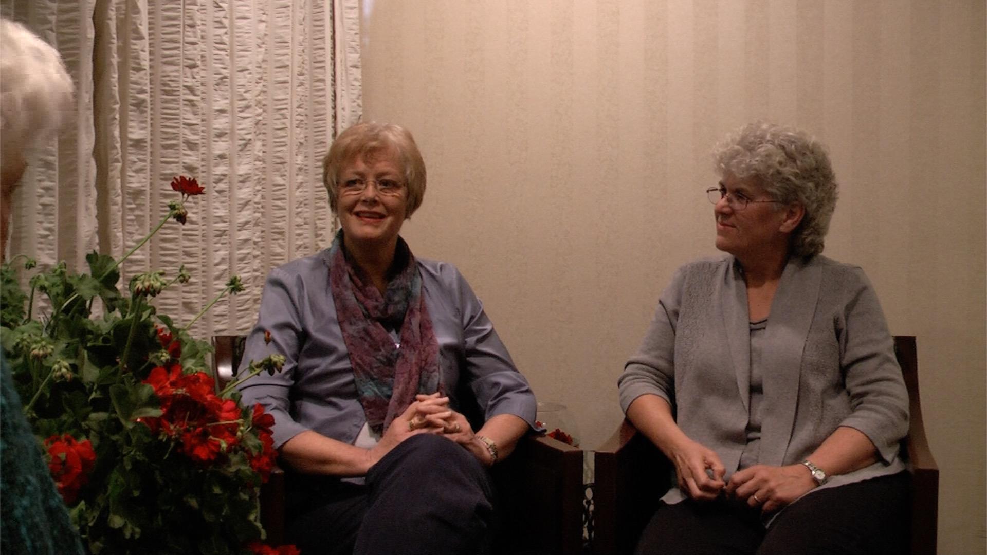Linda Wagner and Paula Gubrud -Howe sit down with Dr. Benner