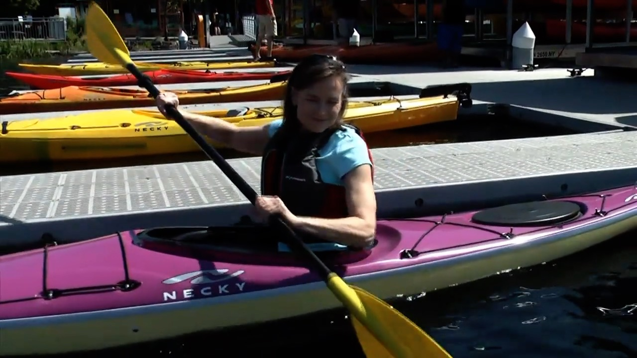 Sarah Shannon Kayaking