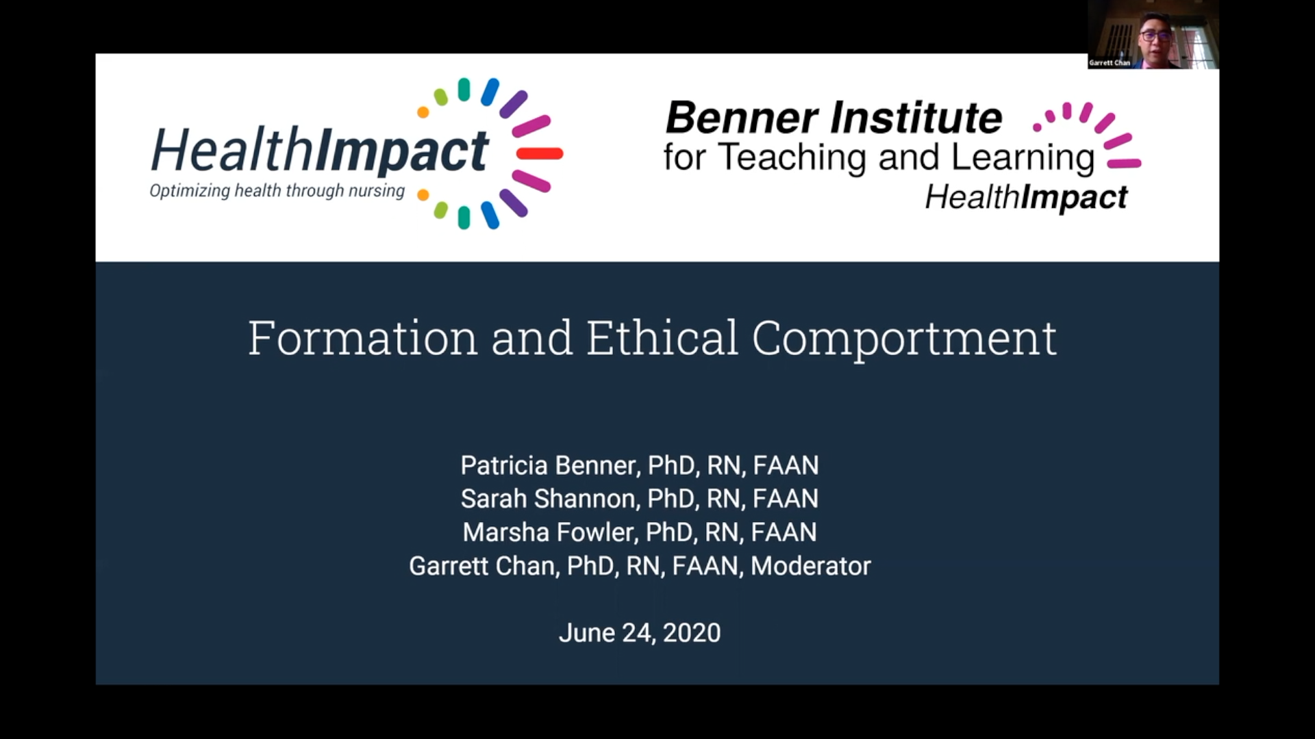 Health Impact Title Slide